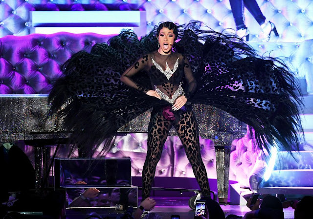 Cardi B wins her first Grammy, becomes first solo female rapper to win 'Best Rap Album'