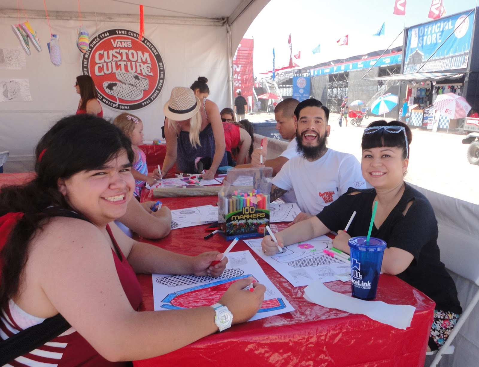 df4379a2de Stop by the Vans Custom Culture booth and you can enter the contest to  design your own dream shoes… with a chance that Vans will make them. SurfWriter  Girls ...