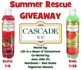 Enter the Cascade Ice Water Summer Rescue Giveaway. Ends 7/22