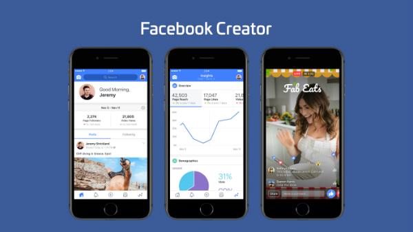 فيسبوك تطلق تطبيق جديد لصناع محتوى الفيديو