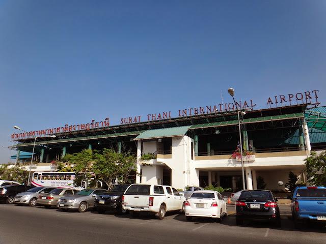 Surat Thani Airport dekat dengan Koh Samui