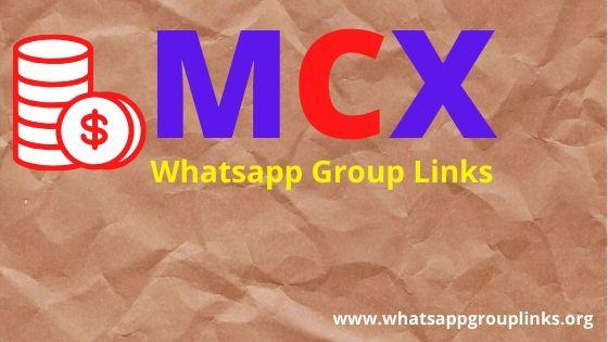 Mcx Whatsapp Group Link