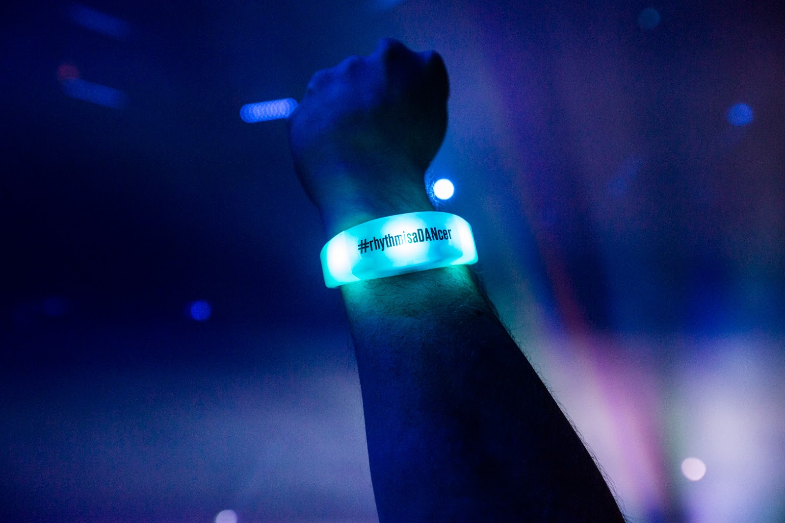 DAN christmas party light wristband