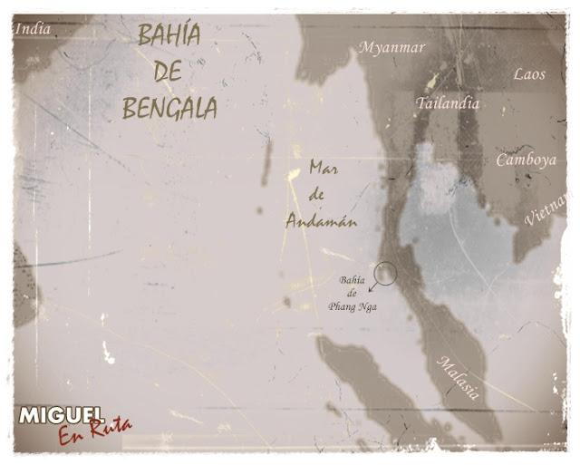 Bahía-Phang-Nga-Map