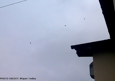 UFOs Over Wigan
