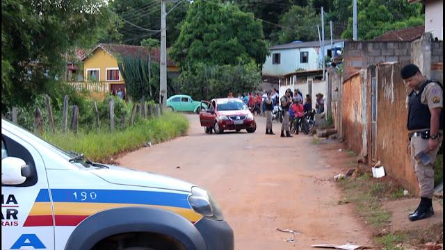 Policial atira contra homem após ser ameaçado com machado em Campanha MG - Foto: Alô Alô Cidade