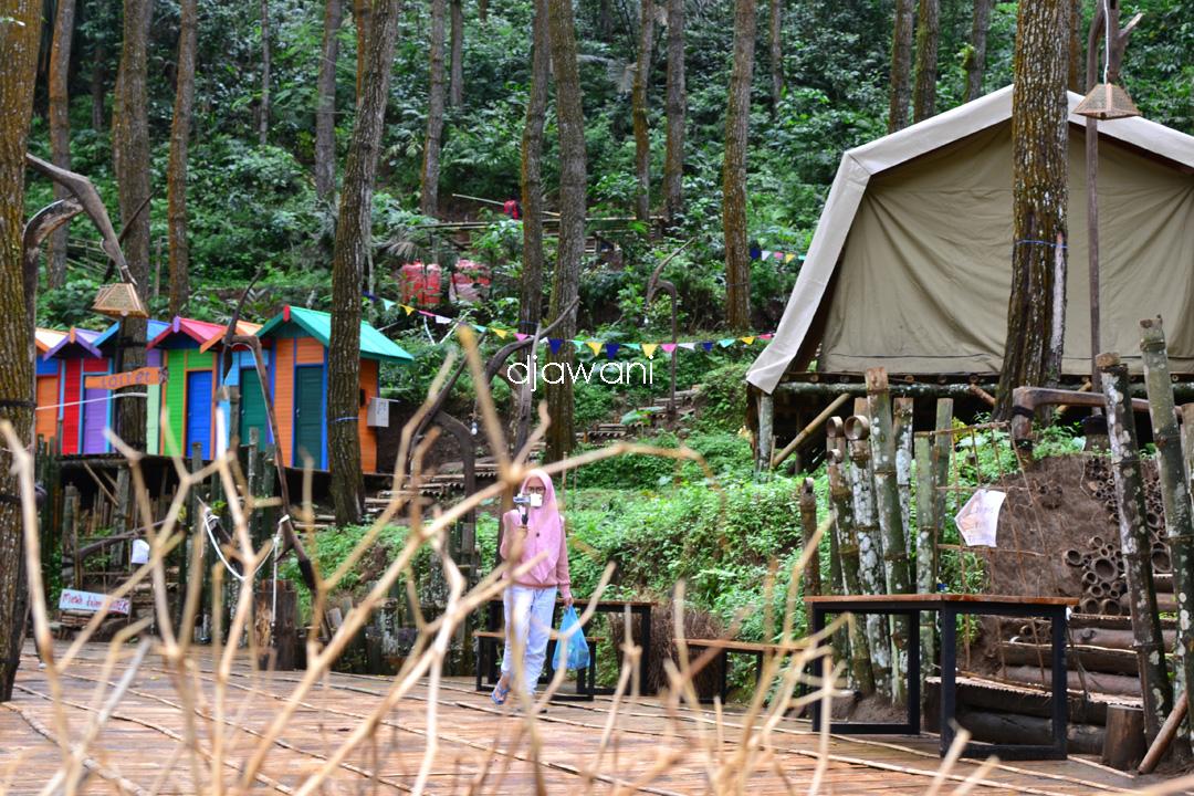 Glamping De Loano Purworejo, Tempat Camping Di Alam ...