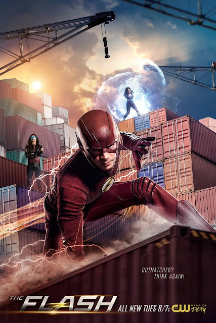 "Póster promocional de ""THE FLASH"" 4×20 Therefore She Is - DC Comics"