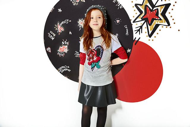 Faldas para niñas moda otoño invierno 2018.