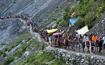 Amarnath Yatra suspended for third day