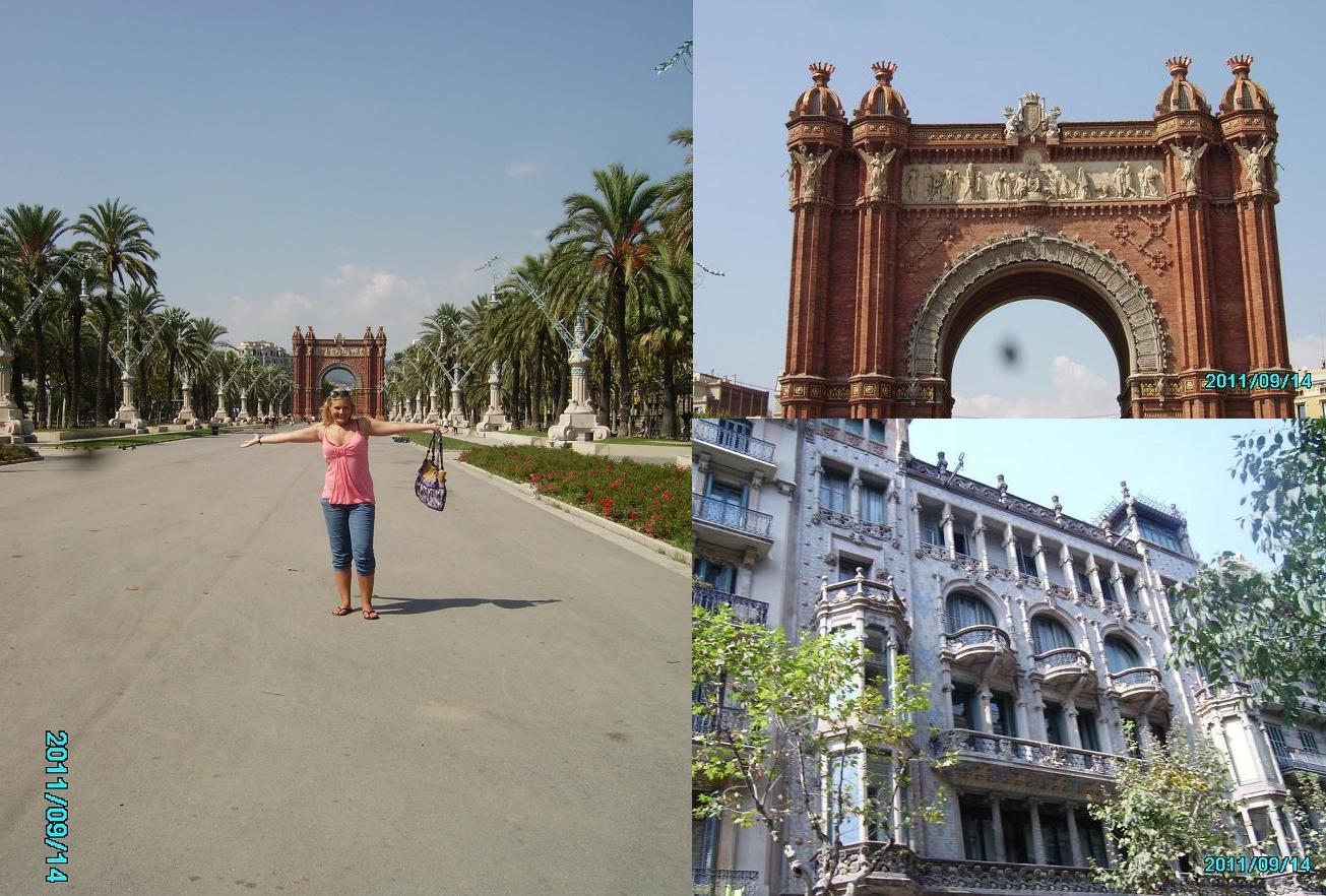 łuk-triumfalny-Barcelona