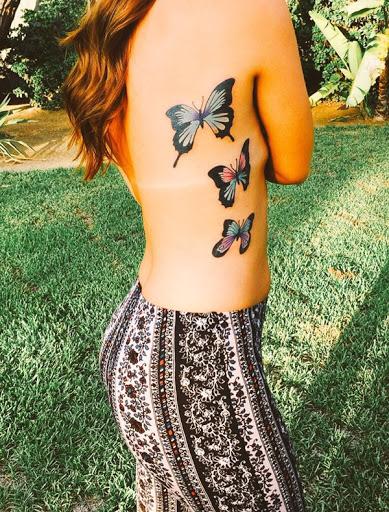Melhor tatuagem de borboleta ideias para as mulheres