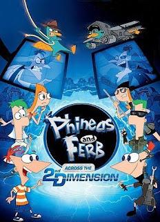 Phineas si Ferb Filmul: In a 2-a dimensiune dublat in romana