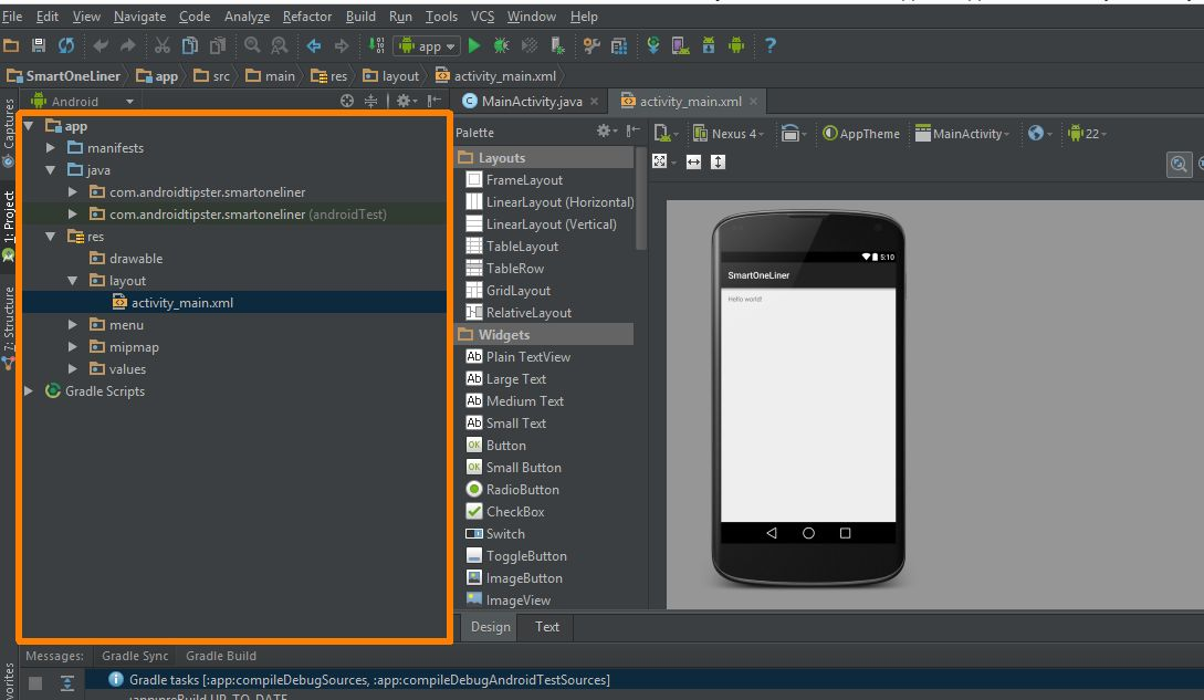 How to make an app for beginners lesson 2