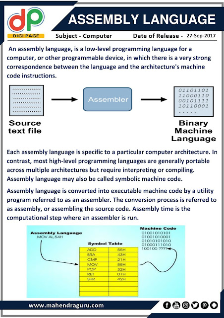 DP | Assembly Language | 27 - 09 - 17