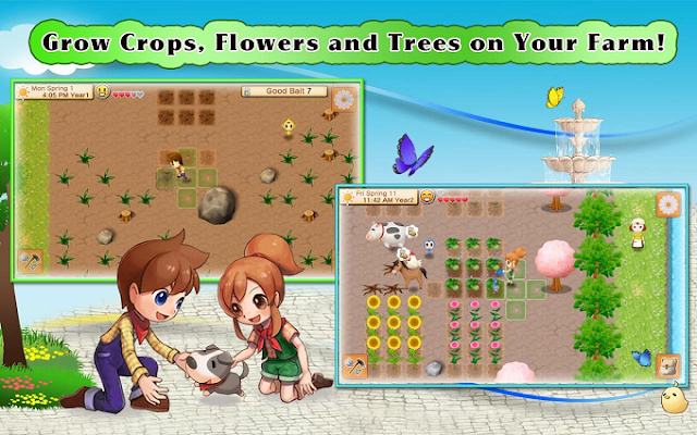 Download Harvest Moon: Seeds Of Memories APK + Data
