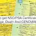 Steps on How to get NSO/PSA Certificate Online – Birth, Marriage, Death And CENOMAR in the Philippines