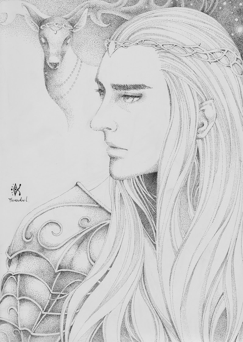 the hobbit     thranduil