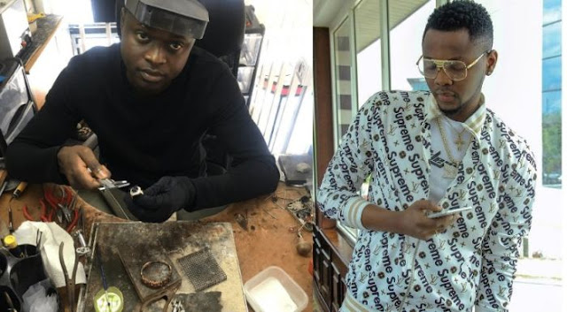 """N14m No Be Small Tin O"" – Celebrity Jeweler, Malivelihood Hails Kiss Daniel Over His Jewelry"