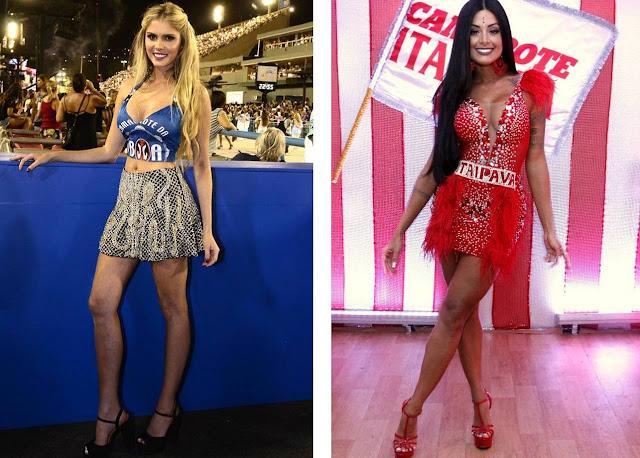 Veja o estilo das celebridade no carnaval