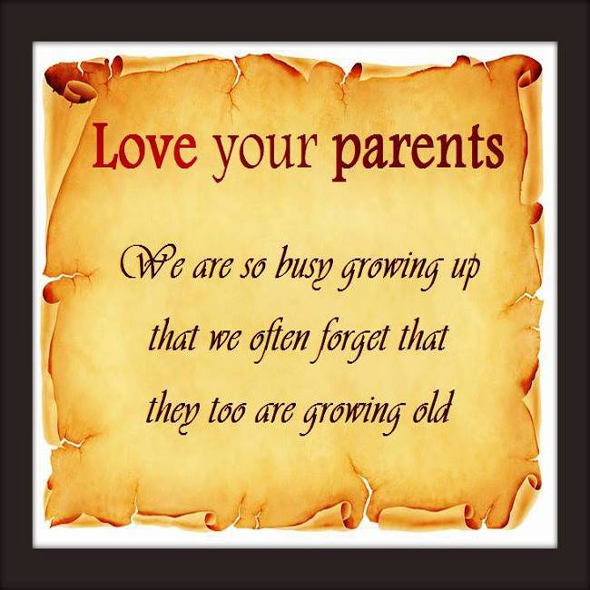 My Thoughts Happy Parents Day