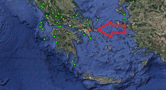 e7fb17744b Σεισμός ΤΩΡΑ  Αισθητός στην Αθήνα