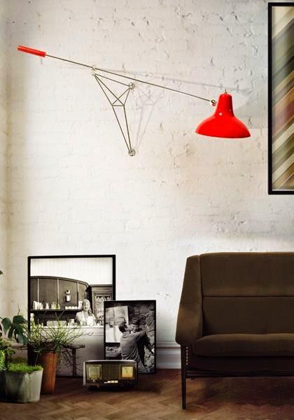 #6 Una Decoración De Salas Vintage Se Merece Un Rincón Del Sofá Vintage, En  Este Caso Contamos Con Una Lámpara Colgada En La Pared, Unos Cuadros Con ...