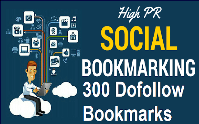 300 Free Dofollow Social Bookmarking Sites