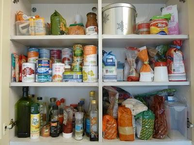 Storecupboard challenge results: clearer cupboards & 40% lower food bills