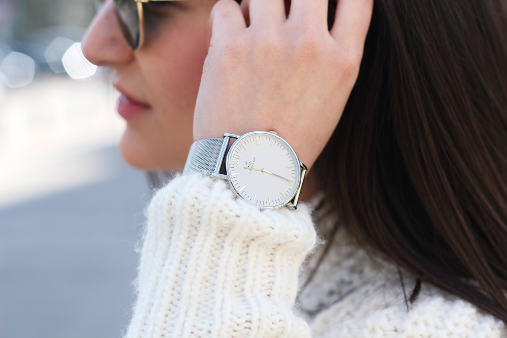 GRANNY SHOES AND KAPTEN & SON WATCH