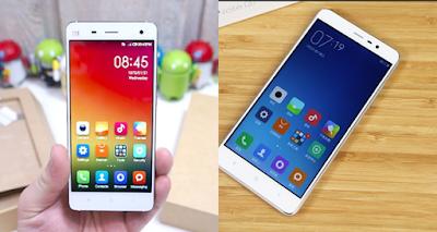Cả Xiaomi mi4 với redmi note 3 đều chất lượng ngang nhau