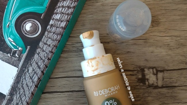 FondoTinta: maquillaje sin parabenos, ni siliconas de Deborah Milano - Dispensador