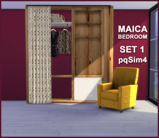 Armario y sillón Maica 16