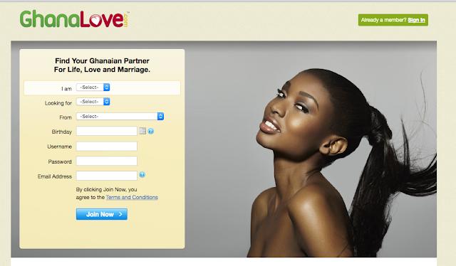 Ghana Love Sign Up - GhanaLove Dating Site @ www.ghanalove.com