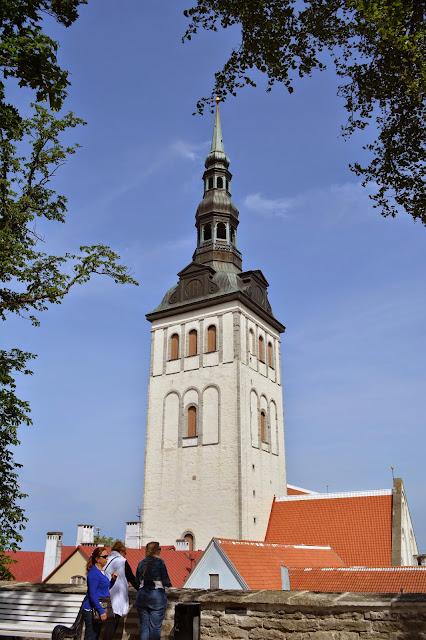 St. Olav's Kilisesi, Tallin, Estonya