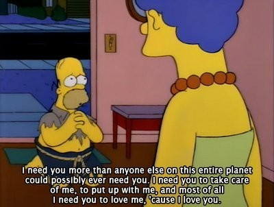 Homer and Marge Simpson, The Simpsons