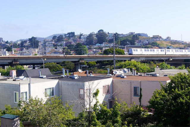 BART – die Metro von San Fran.