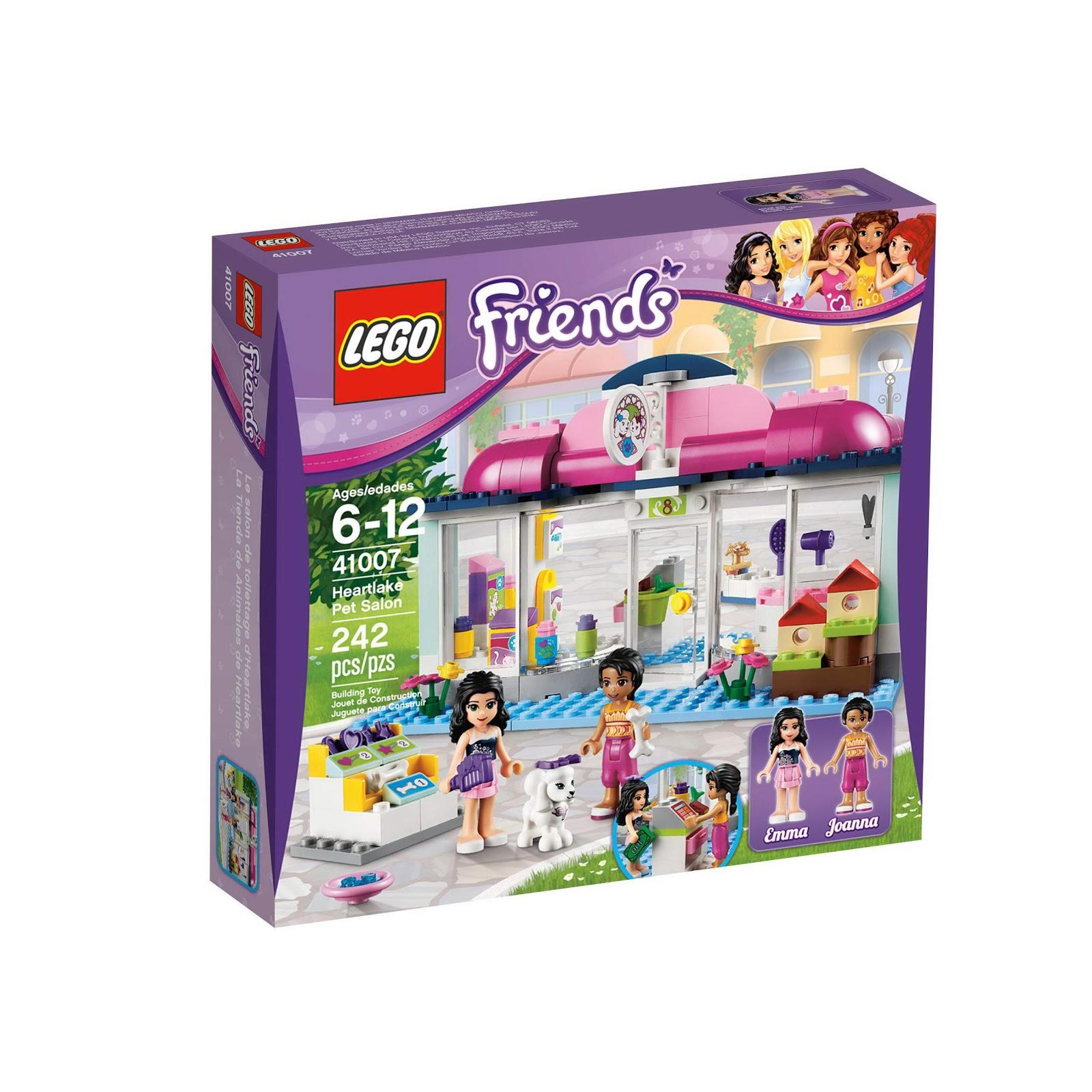 Brick Friends: LEGO 41007 Heartlake Pet Salon