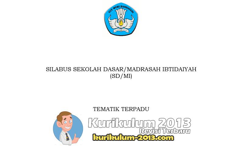 Silabus SD Kurikulum 2013 Semua Kelas Revisi Tahun 2016 - Silabus K13