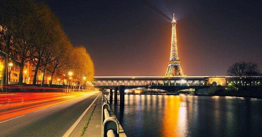 Kemegahan dan Keindahan Kota Paris Saat Malam 30