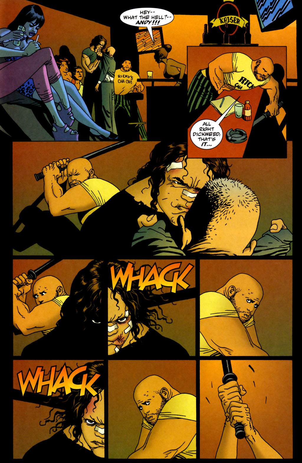 Read online 100 Bullets comic -  Issue #64 - 14