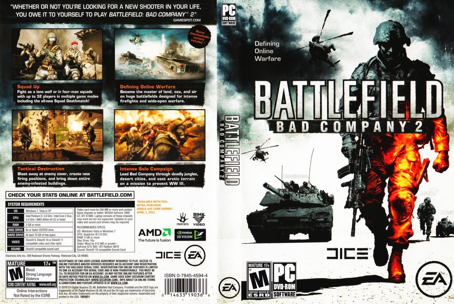 battlefield bad company 2 full pc game hardrip spark worldz