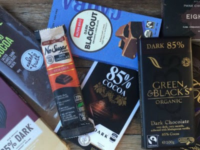 brands of organic dark chocolate