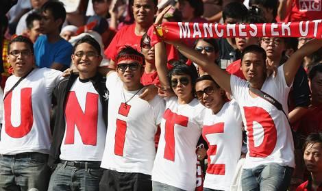 Manchester United -750 triệu người hâm mộ trên toàn thế giới