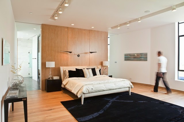 Bedroom Design Inspiration Of Construction Of Bedroom With Wooden Wall