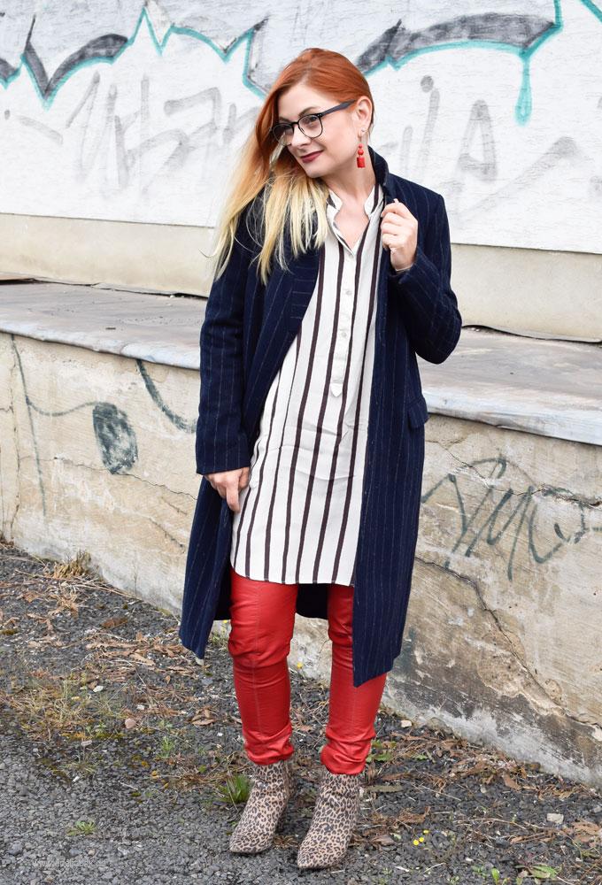 wie style ich als Ü40 Frau Rot, Rot im Herbst 2017