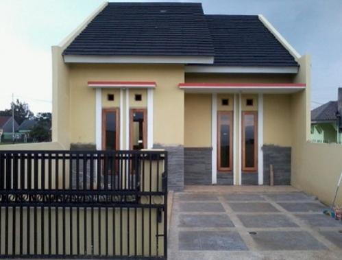 lihat rumah sederhana di kampung