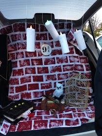 Harris Sisters GirlTalk: Last Minute Trunk or Treat Decoration Ideas