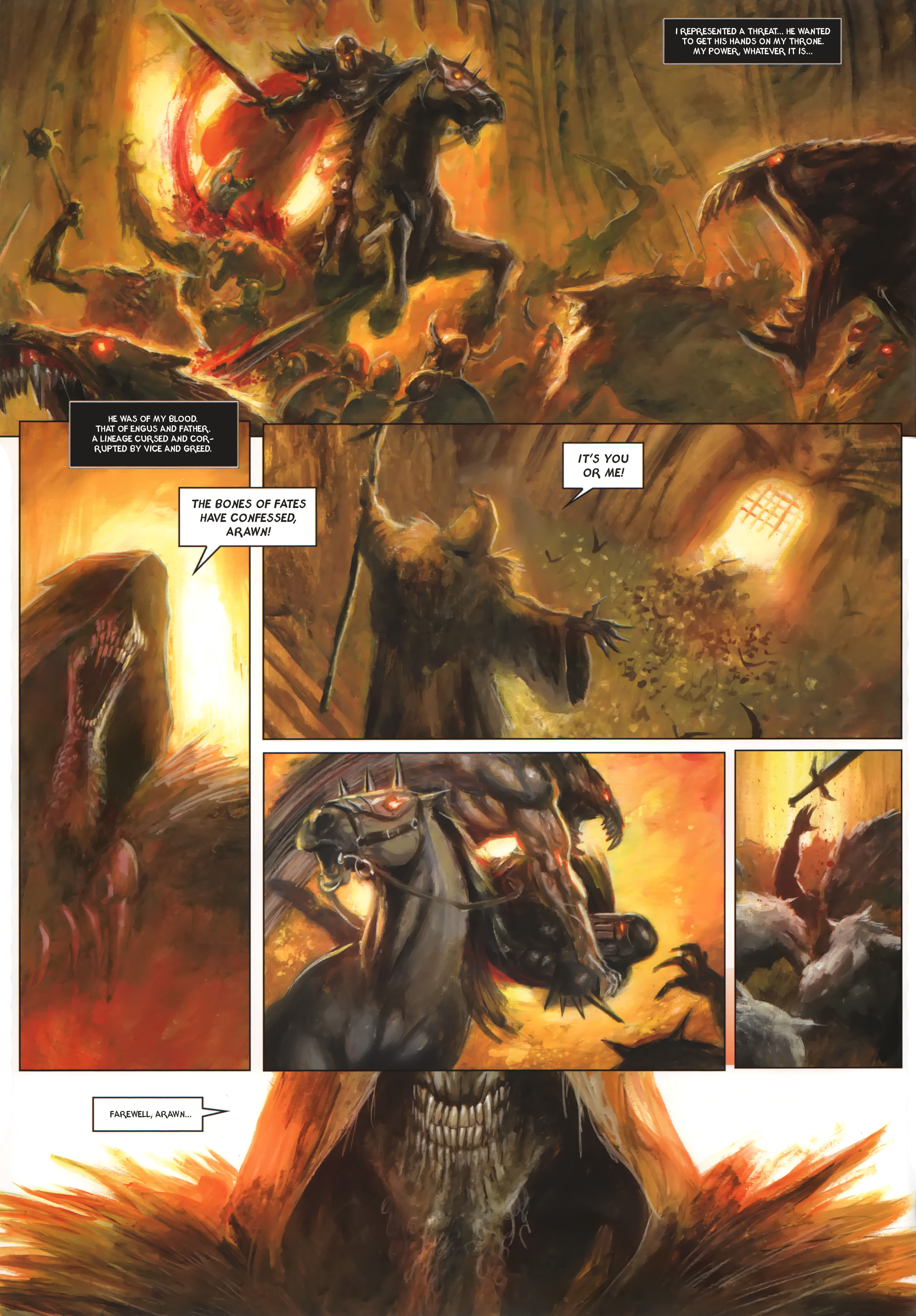 Read online Arawn comic -  Issue #6 - 43