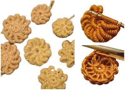 Tutorial Flores Lingote de Crochet